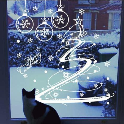 Fensterdeko Weihnachten Basteln Vorlagen feine fensterbilder zu weihnachten und winterzeit
