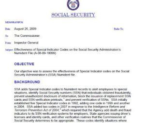 Verification Letter For Social Security ssn the obama hustle
