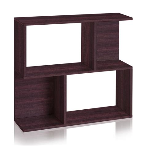 bookcase side table way basics soho 2 shelf 11 2 x 32 1 x 30 2 zboard