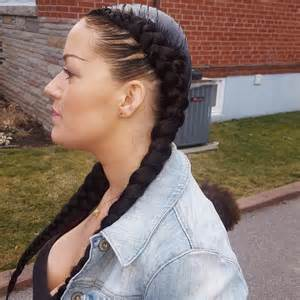 hairstyle with 2 shoulder braids 20 two braids hairstyle ideas designs design trends