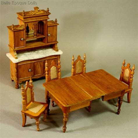 antique dolls house furniture antique dolls house furniture antique german dining suite by schneegas ref m294a
