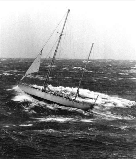 catamaran sailing heavy seas gypsy moth iv rounding cape horn with fore rigged stay
