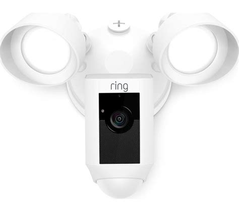 flood light by ring buy ring floodlight white free delivery currys