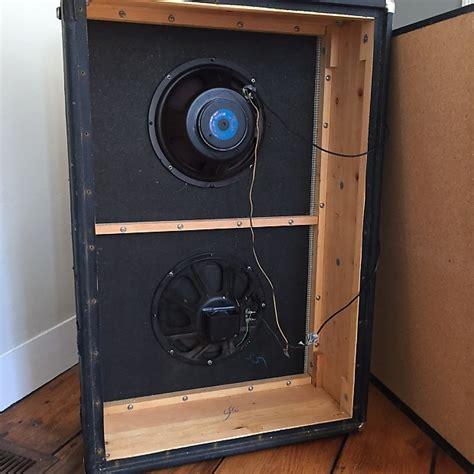 vintage fender 2x12 cabinet vintage fender 2x12 vertical bassman cabinet 60s reverb