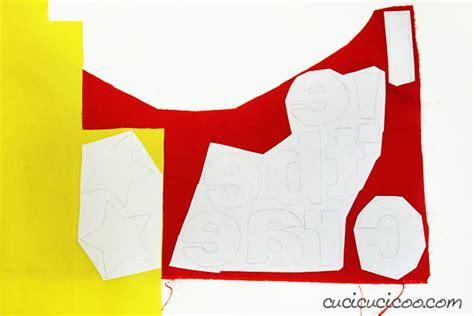 creare parole con le lettere come fare bandierine di stoffa con le lettere cucicucicoo