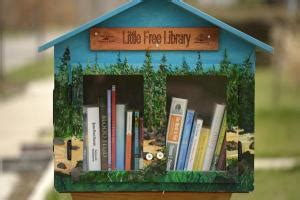 tiny library tiny libraries in front yards across colorado inspire love
