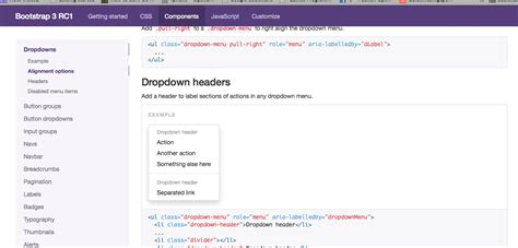 bootstrap ul layout html animated section indicator using like twitter