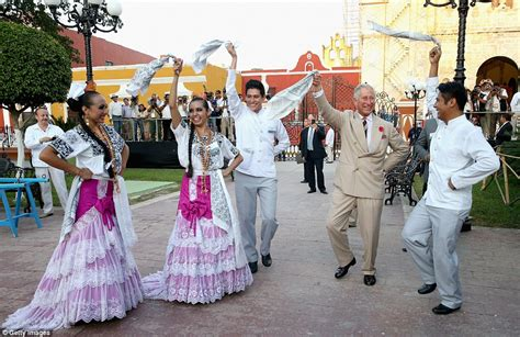 mexican swing dance prince charles has mexican town in a spin with his fancy
