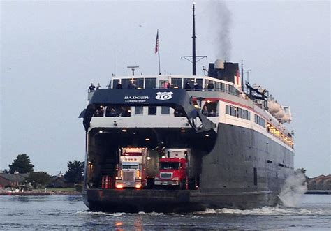 ferry boat jobs uk lake michigan ferry gets national historic landmark status