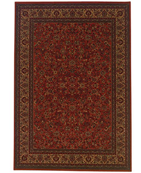 macys area rugs couristan area rug everest isfahan crimson 5 3 quot x 7 6 quot rugs macy s