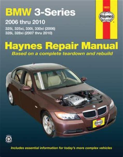 free service manuals online 2010 bmw 3 series user handbook bmw 3 series haynes repair manual 2006 2010 hay18023