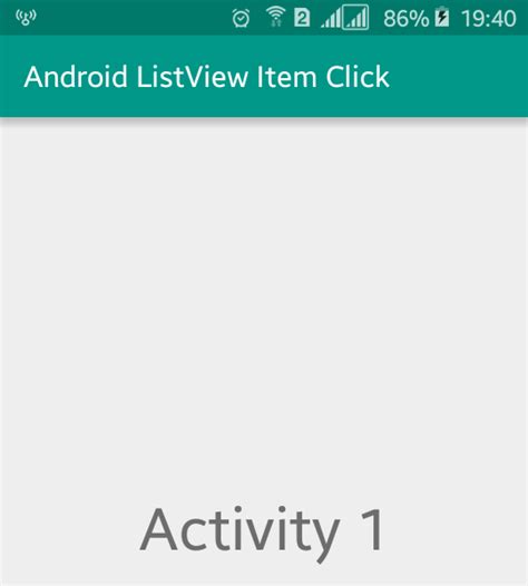 android start new activity start new activity from android listview onitemclick viral android tutorials exles ux