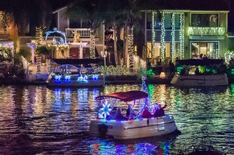 east lake village christmas boat parade 2017 yorba linda s east lake village hosts annual boat parade