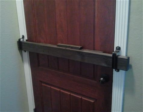 Front Door Security Bars Door Barricade Simple Effective Economical