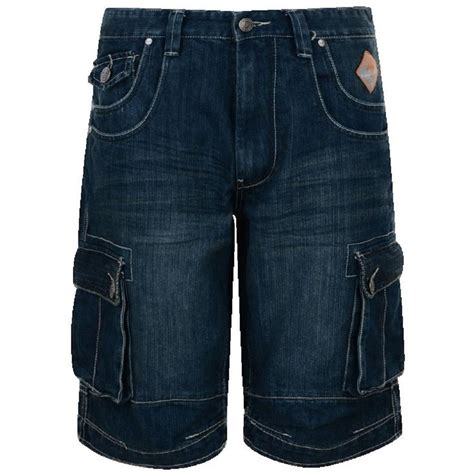 mens king size denim cargo shorts big mens clothing