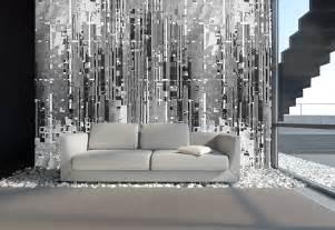 vliestapete wohnzimmer wandgestaltung wohnzimmer wei 223 kreative wohnideen f 252 r