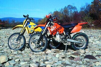 Ktm Vs Husaberg Ktm 525 Exc Racing Moc Mężczyźni Motocykle Porady