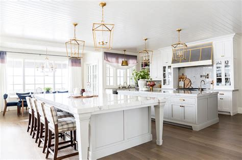 kitchens with two islands 2018 home tour kitchen reveal ivory