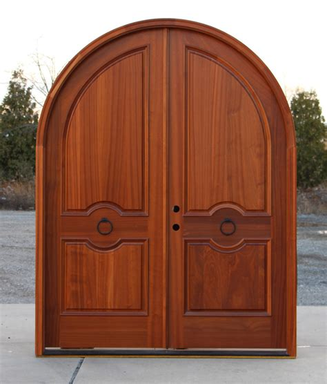Arch Doors by Arched Doors Exterior Mahogany