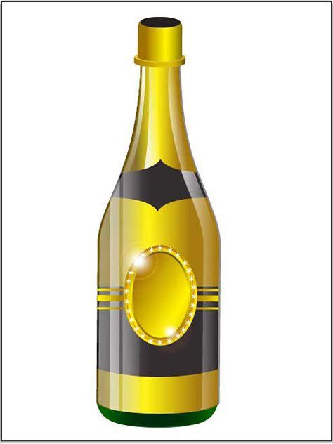 tutorial illustrator bottle wine bottles drawings clipart best