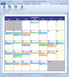 Planner Creator Calendar Creator For Microsoft Word With Holidays