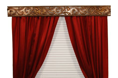 curtain rod valance bcl drapery hardware curtain rod valance weave on