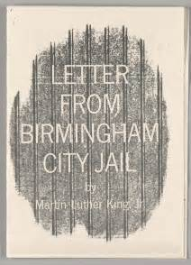 letter from birmingham city the martin luther king