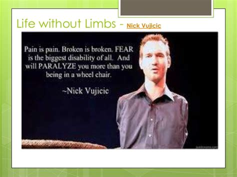 nick vujicic biography ppt the power of positive thinking