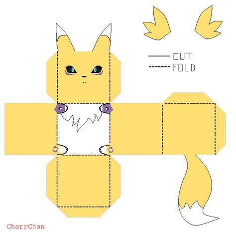 Digimon Papercraft - digimon rookie on pokedigipapercraft deviantart