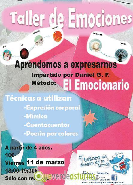taller de emociones taller de emociones actividades infantiles en oviedo uvi 233 u asturias