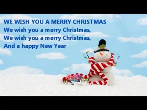merry christmas   happy  year christmas carol vocals  figgy pudding