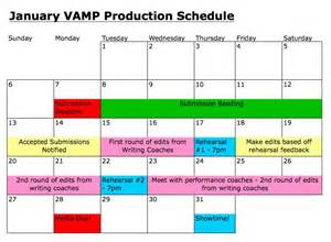 january vamp production schedule so say we all