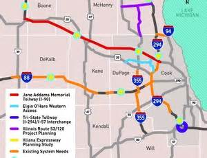 Illinois Toll Road Map by Il Toll Map Pictures To Pin On Pinterest Pinsdaddy
