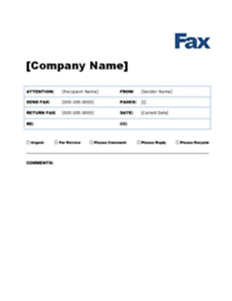 Free Fax Cover Letter Templates Template Fax Cover Sheet Microsoft Word
