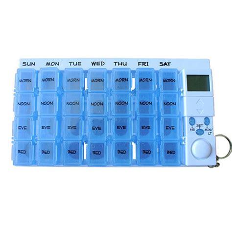 Capsul Medicine Box With Alarm digital pill box alarm electronic medicine box timer 7days pill reminder one week pill