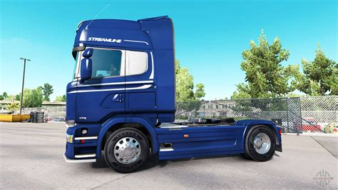 scania  streamline  american truck simulator