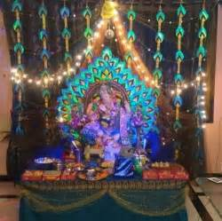 Home Decoration Of Ganesh Festival by 161 Best Images About Ganpati Decoration Ideas On