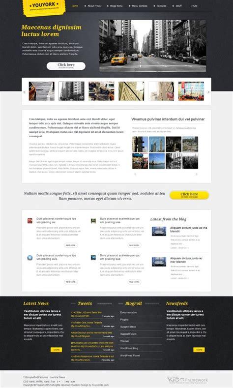 youyork city portal joomla template