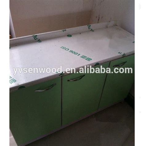 particle board table top post formed hpl faced mdf particle board kitchen table top