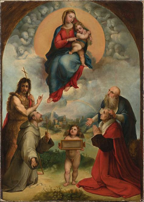 cuadros rafael small madonna of foligno previously unknown painting by