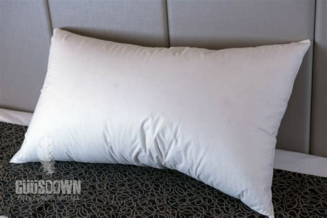 100 duck feather pillow firm support made in