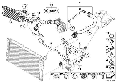 bmw e46 cooling system diagram radiator bmw e46
