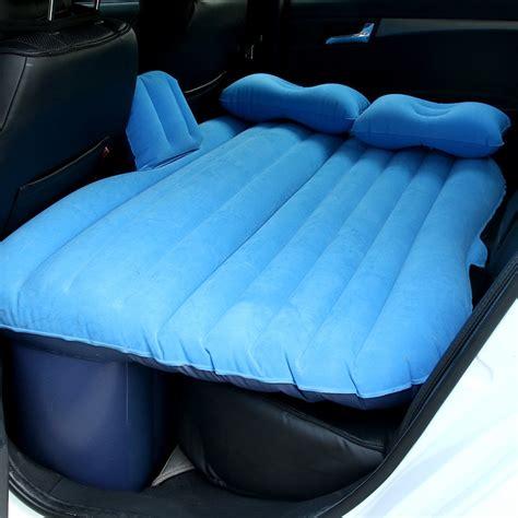 universal car back seat cover car air mattress travel bed mattress air bed top
