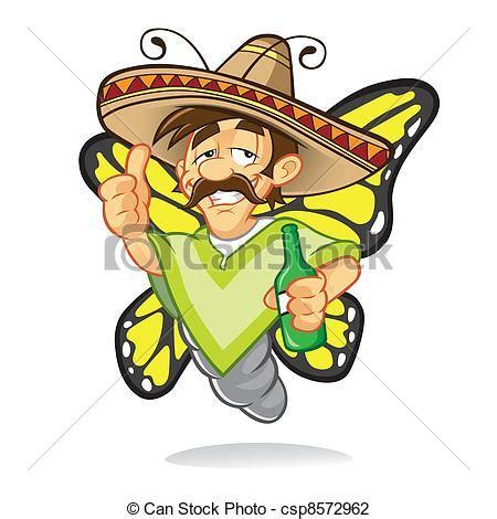 imagenes graciosas de borrachos caricatura 卡通 闊邊帽 酒醉 蝴蝶 誰 是 喝 以及 拇指 簽署 由于 a 微笑 以及 藏品 a