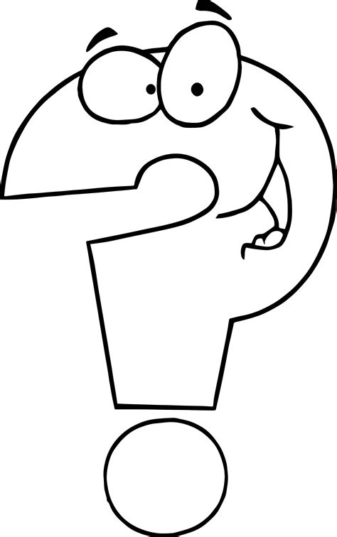 coloring pages question any question coloring page wecoloringpage