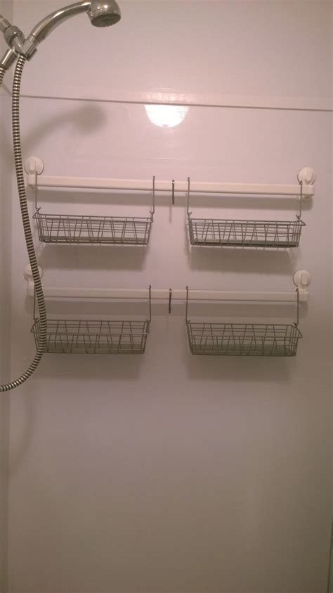 ikea hacked shower caddy   stugvik
