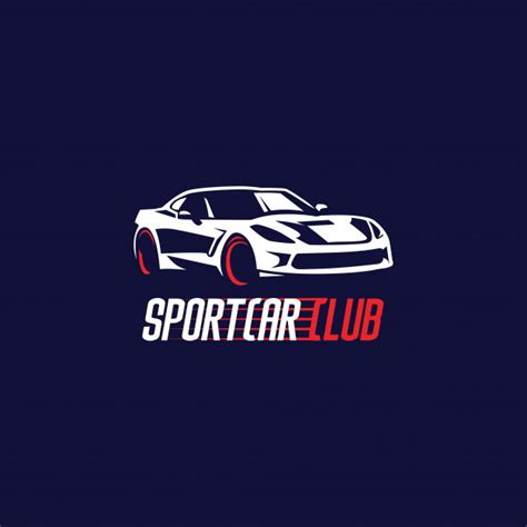 sports car logos sport car logo vector premium