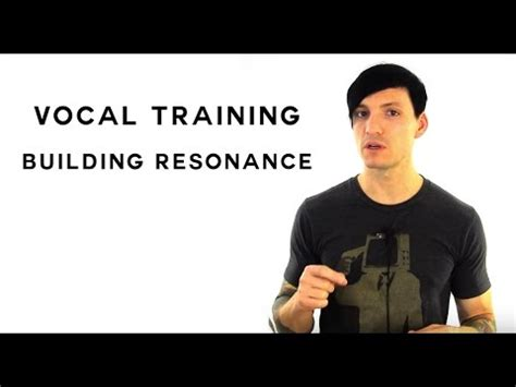 Building pharyngeal resonance vocal training on building pharyngeal