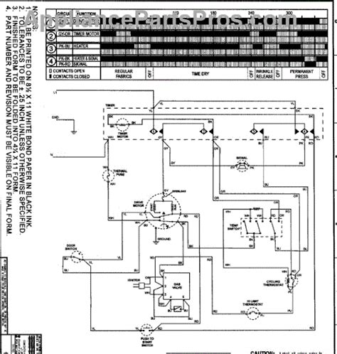 parts for amana ndg2330aww wiring information parts