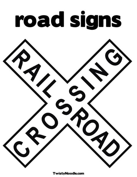 traffic sign coloring pages az coloring pages